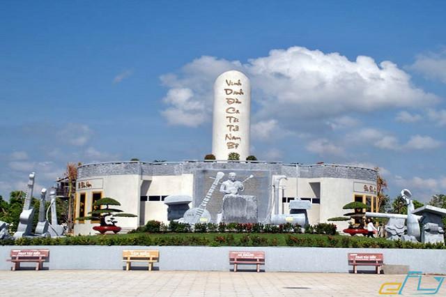 điểm đến du lịch bạc liêu: khu lưu niệm nhạc sĩ cao văn lầu