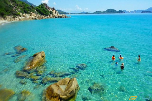địa điểm du lịch Ninh Thuận: vịnh vỹ hy